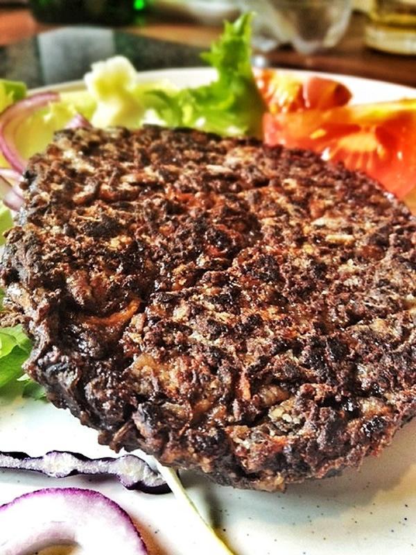 Healthy (Low Fat) Mushroom and Carrot Burgers - Makes 4 Burgers