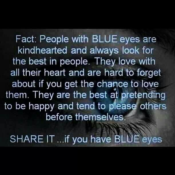 facts about people with blue eyes!! by China Doll - Musely
