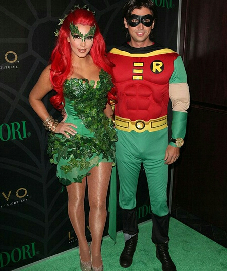 poison ivy and Robin