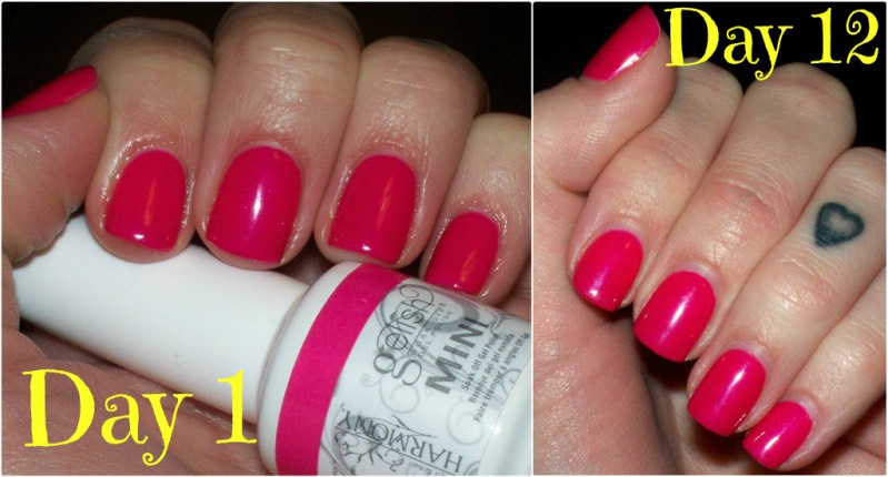Gel nails last WAY longer than regular nails and they're shinier and more efficient.