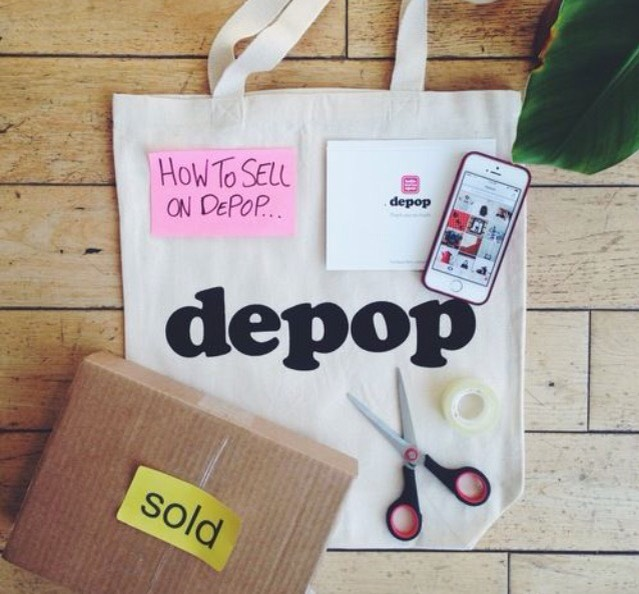 On this site you can easily sell anything you want rid of, whether it's used or new! Using PayPal or a credit card, you can receive money for selling your items, with depop taking only a small amount of 10%. Collect followers and follow others to make selling quicker!
