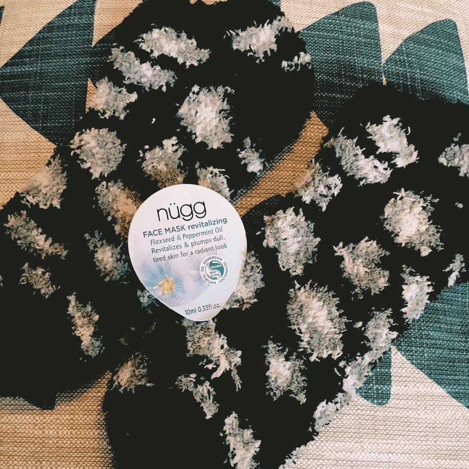 You will need:         - Revitalizing Mask          - Fuzzy Socks