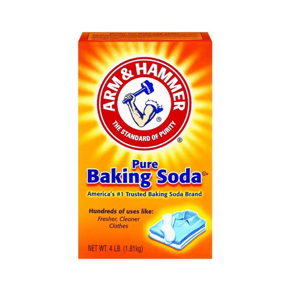 Putting baking soda and blackheads reduces them or gets rid of them completely!!!
