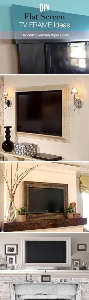 13. Frame your TV.