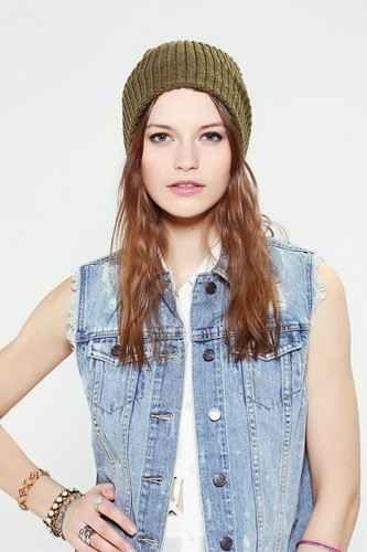 Sleep with a beanie on while your hair is wet to avoid frizz