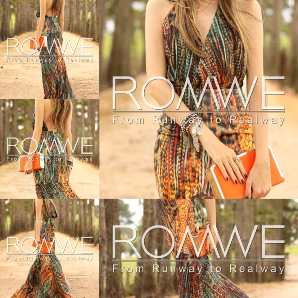 $24.99 http://m.romwe.com/Halter-Backless-Tribal-Print-Maxi-Dress-p-150601-cat-724.html