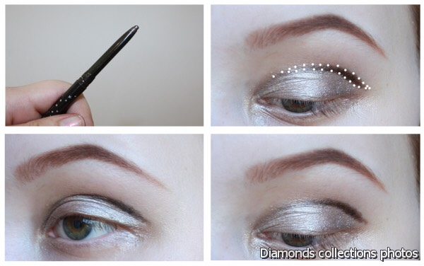 For deep set eyes, with protruding brow arches as well as for hooded eyes, the crease line you draw should be above the natural one, to balance your ...