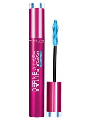 Waterproof mascara formula is great at holding curl and keeping your mascara from smearing throughout the day. Use this after applying your normal mascara on for more effect.