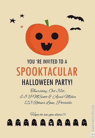 Halloween Party Invite Get this spooktacular Greetings Island invite here, and check out all of the other creative invite ideas it offers!