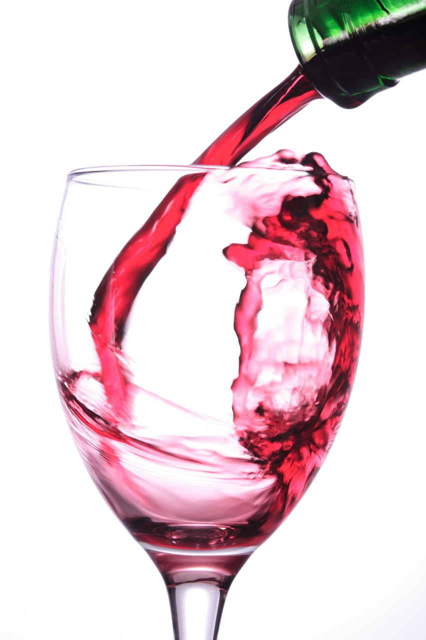 10. Wine facial   Alpha hydroxy acids in sweet white wines replenish dry skin.   Oily skin pairs best with red wine.