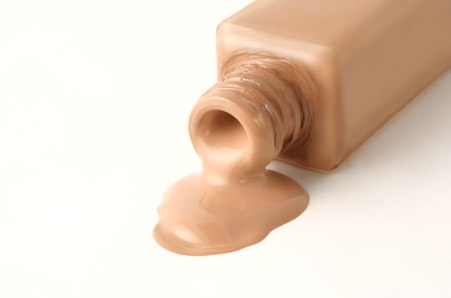 Liquid foundation is the next step.. Match the colour to your jawline (or centre of the chest if you don't want to test on the face). The type of foundation your choose is up to you, but if you have particularly oily skin for example, a matte foundation would be a good choice.