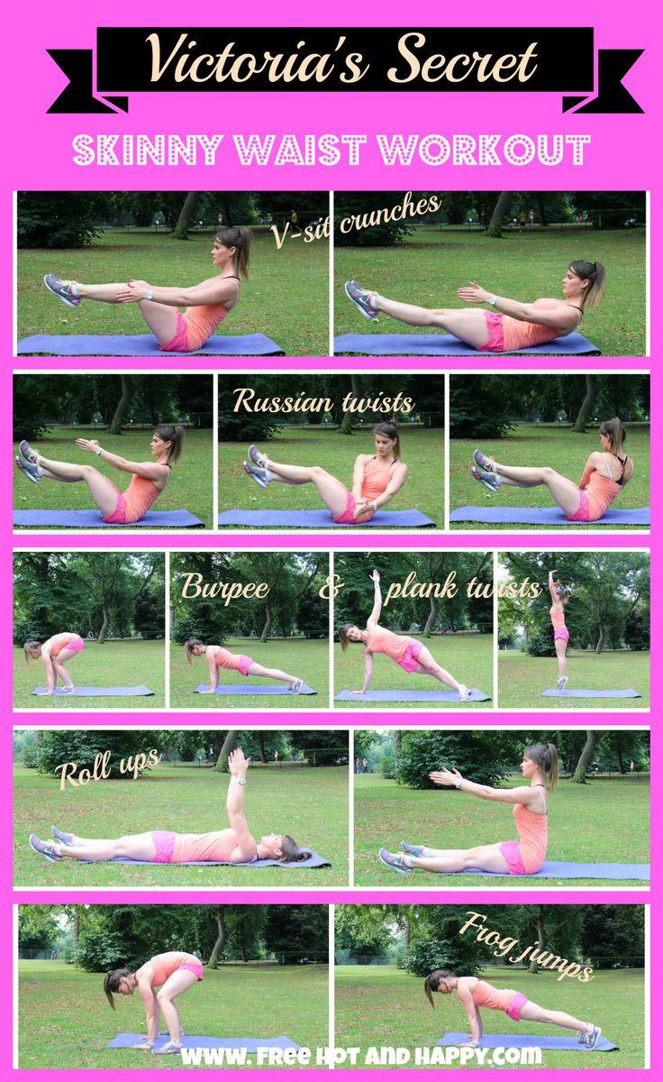 Skinny waist workout.