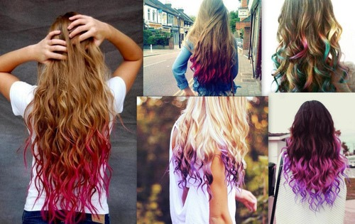 Diy How To Dip Dye Your Hair With Kool Aid You