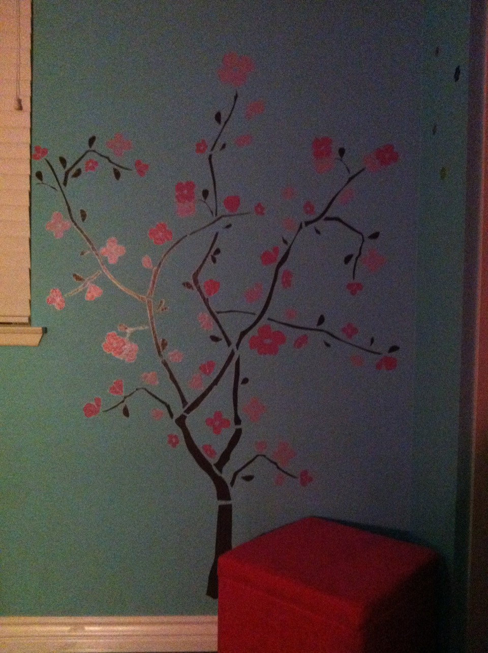 Why ruin your walls by nailing in photo frames and such, when you can use wall decals?! You just position, stick the decal(s) to the wall, and done! Some are even reusable! This cute tree shown can be found at different stores.  So start a trend with wall decals!