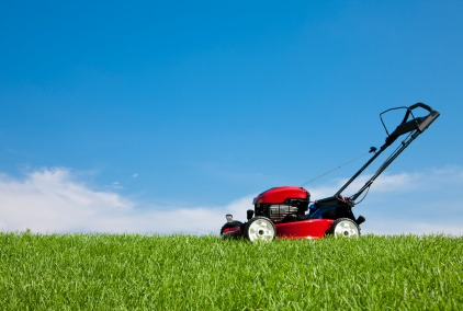 During spring or summer you can offer to mow your neighbors lawns