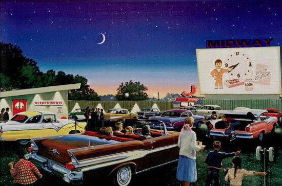 Go to a drive in movie!