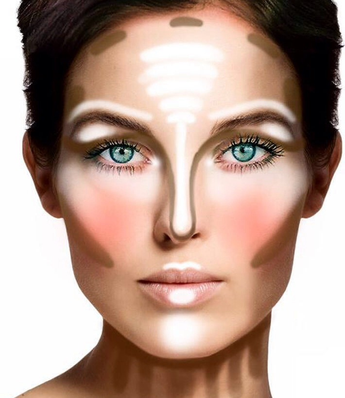 How to correctly contour, highlight, and blush! It makes all the difference!! (: hope this helped! Please like(: