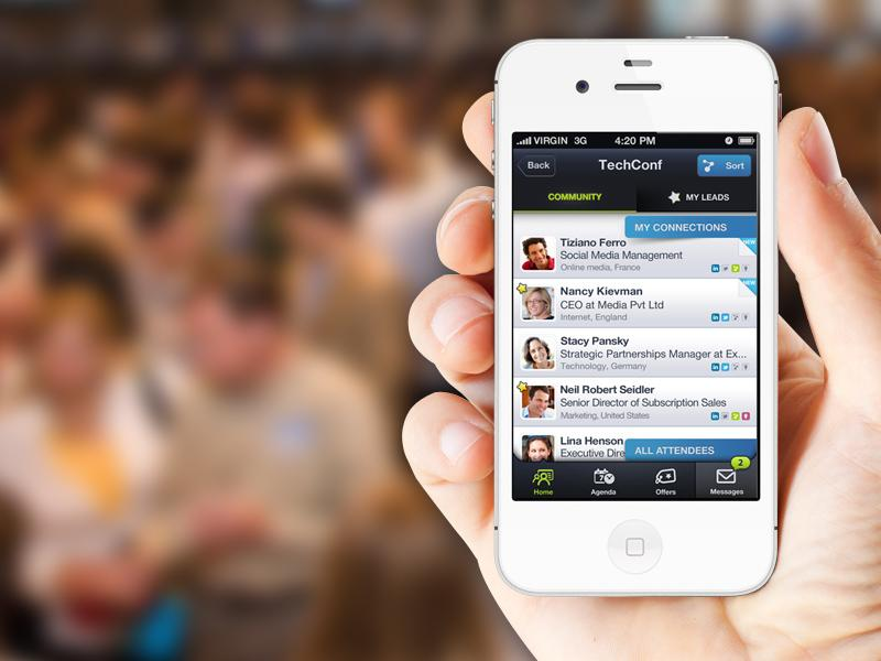 Bizzabo is an amazing event tool for iOS. It allows you to search tons of events near you, or in another state/ country. You can then meet potential event goers  in the app AND connect with them on LinkedIn. Talk about productive networking!! It's Free.