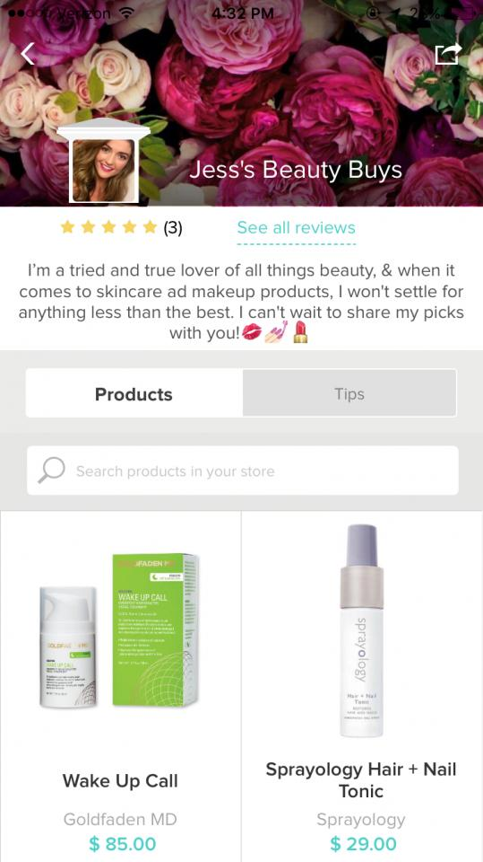 As a muse, you can create a store, add your favorite products, and share your store (and Tips!) to all your followers on Trusper, as well as your followers on other social media profiles.