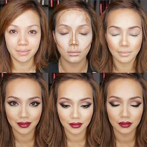 What's more viral than contouring? Misinformation about contouring 😩 From color to placement, lies have cut our cheeks.