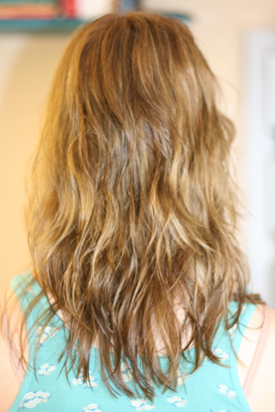 Put it in you hair an hour and a half before washing your hair and when you get out of the shower your hair will be soft. This also helps grow your hair.