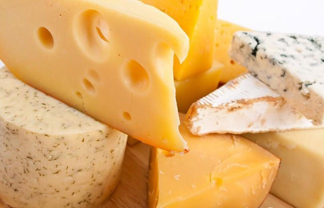 Rub the cut edge of cheese with some butter to keep it from getting moldy.