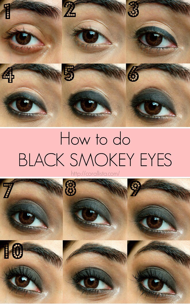 Smokey Eye Tutorials For Beginners By Mal Ahmad Musely