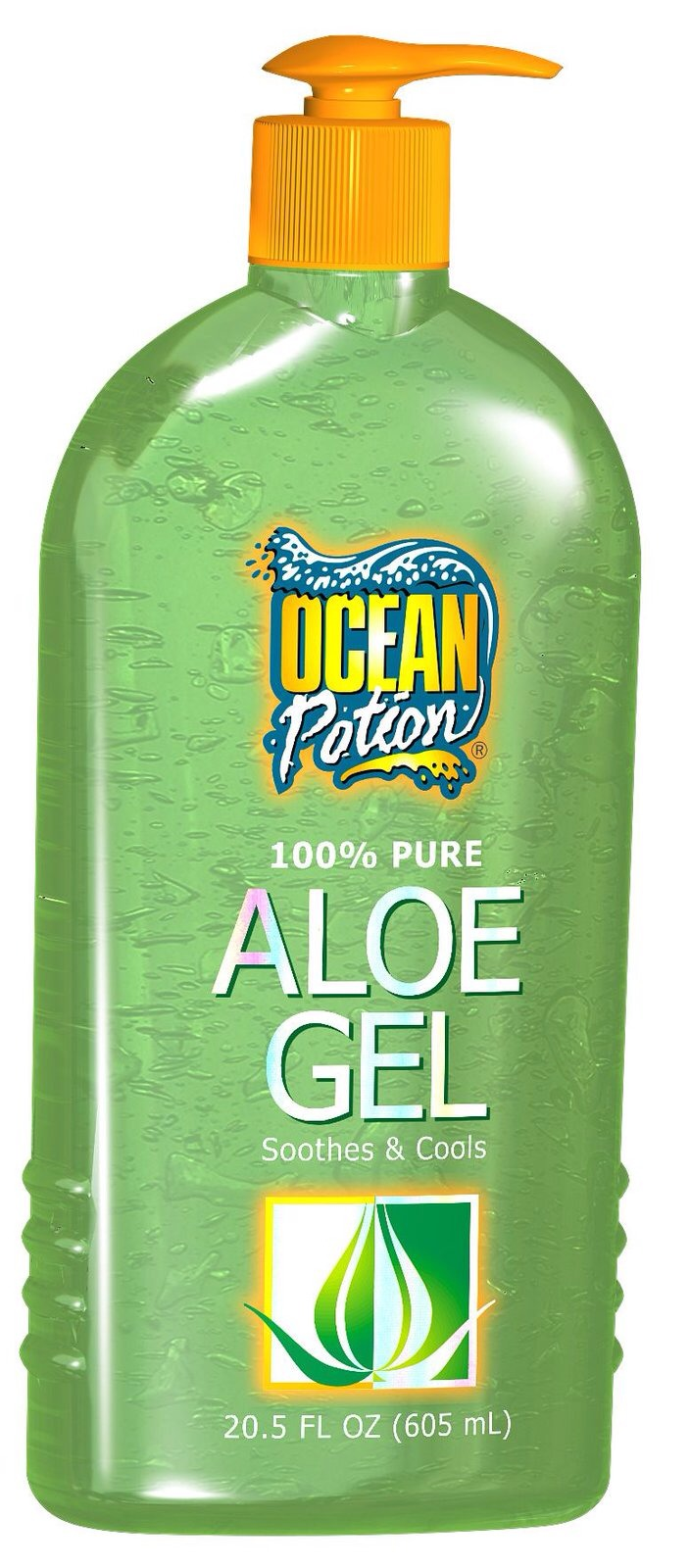 You need Aloe Vera Gel  Can be store bought or fresh