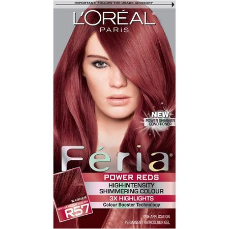 My hair dye. It looks a lot lighter on the box than it does on my hair. I'm guessing this is what it looks like if your hair is bleached beforehand. Mine wasn't. But I love this color and it works perfectly.