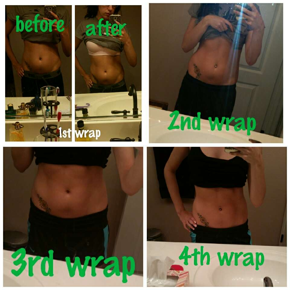 And now for MY PERSONAL results from one box of wraps!