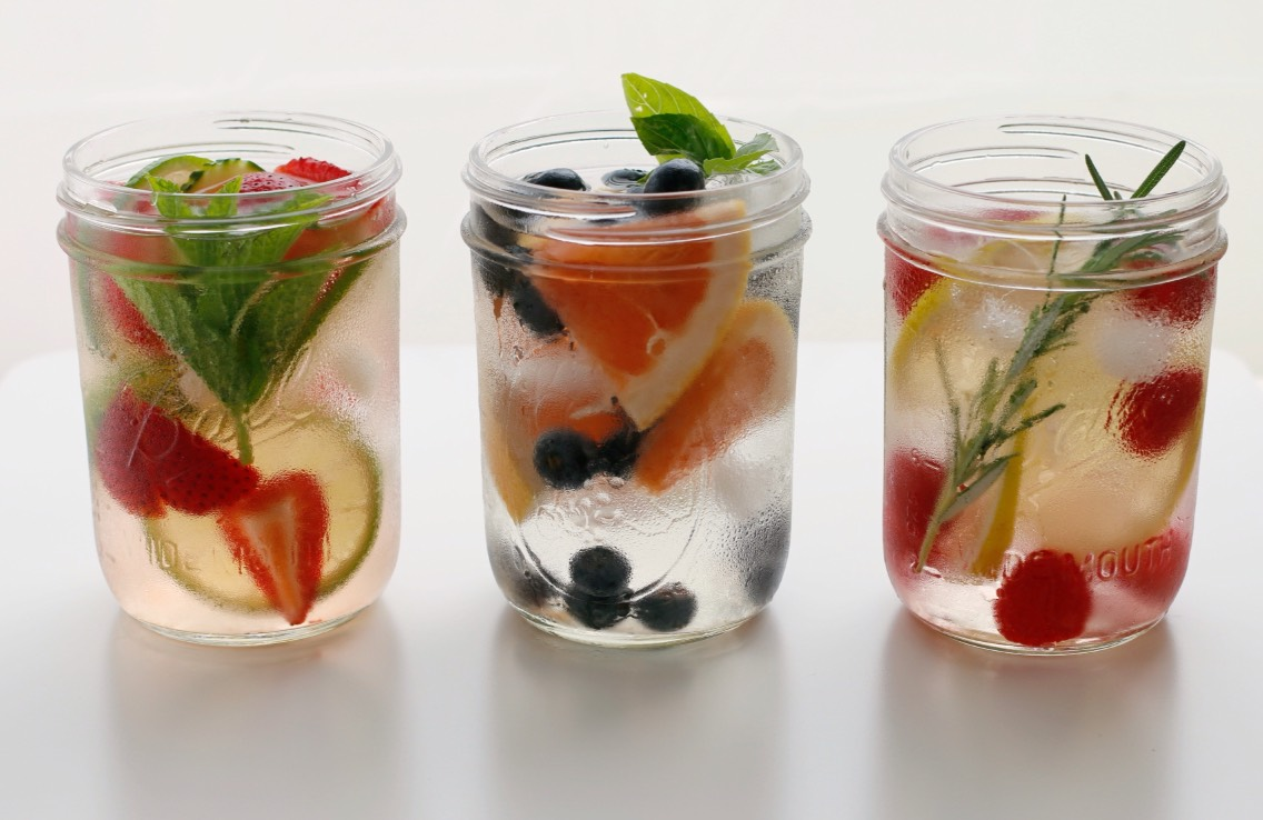 We all know the benifits of infused water. Its talked about everywhere. It helps balance your organs, pH levels, skin, hair, hormones and more.