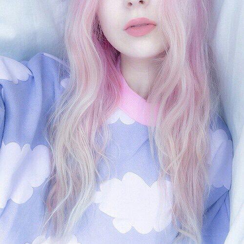 26. Cute Pastel Pink Hair Style