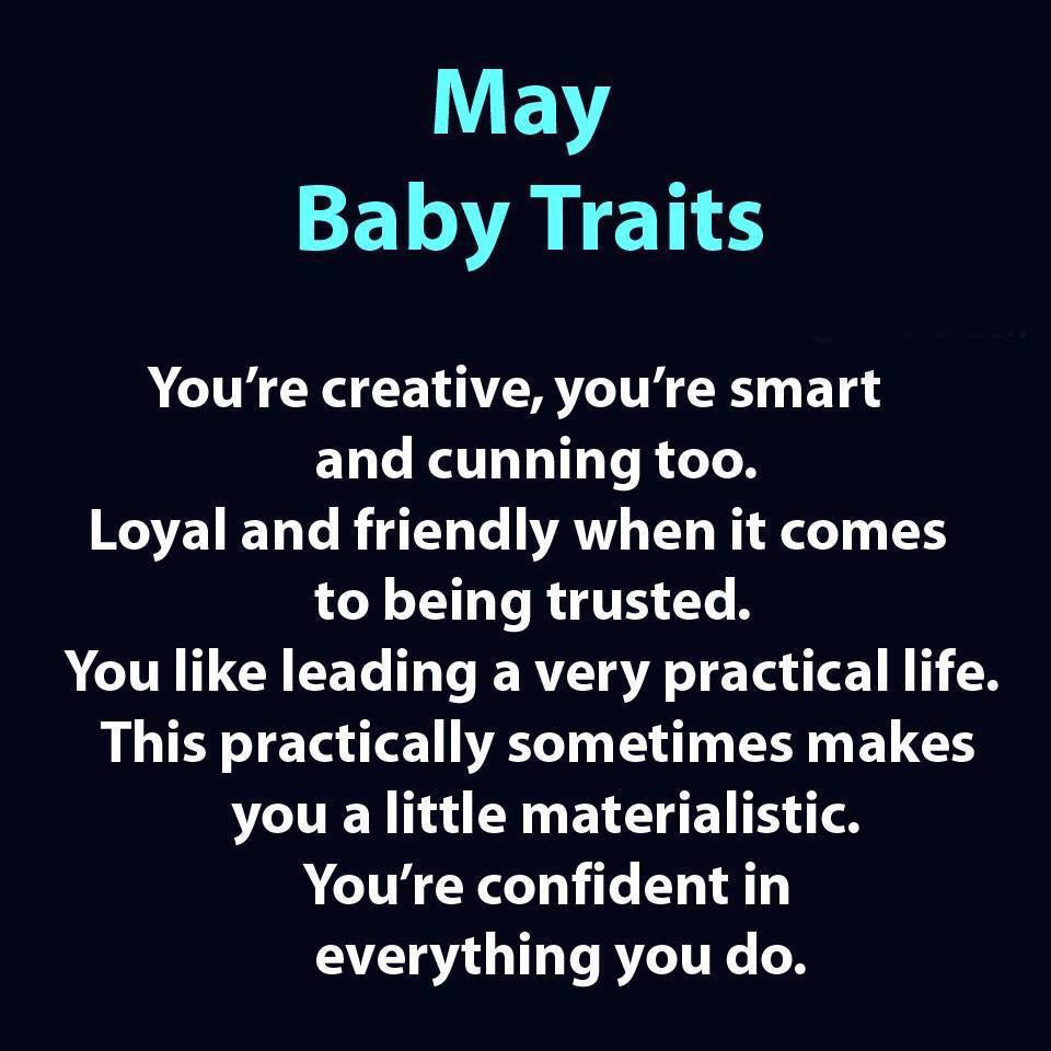 May Baby Personality