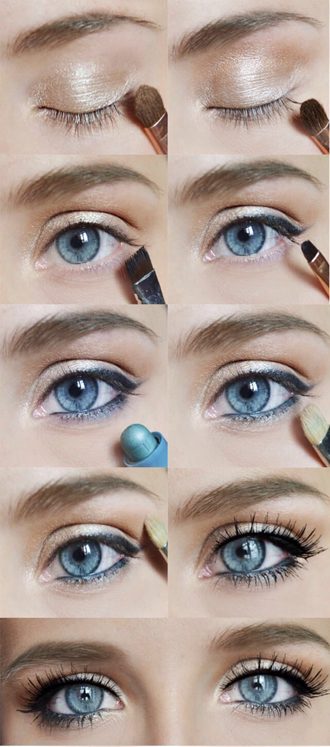 Musely a simple eye makeup tutorial for daily makeup routine please like baditri Images
