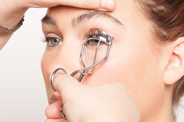 Tip one ~  Curl your eyelashes before applying mascara.  If you want your eye lashes to hold a curl for long , spray hairspray on the curls before use .