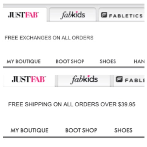 Did I mention there's free shipping on all orders $39.95 and over??  Or how about they do free exchanges on ALL orders??  We'll now you know all you need to know about this FABulous store so what are you waiting for go and get your new shoes, jewelry, clothing!!!