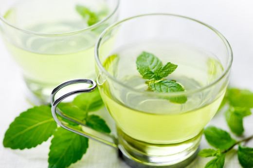 Drink peppermint tea 🌿  Drinking this minty tea can help settle your stomach without making you feel sick whilst drinking it. 🌸  The ingrediants in peppermint tea help to settle pain, ache or irritation to your stomach leaving you with a happy stomach afterwards 😊