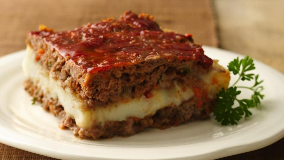 Meat loaf meets Shepherd's Pie in this delicious gluten free creation!