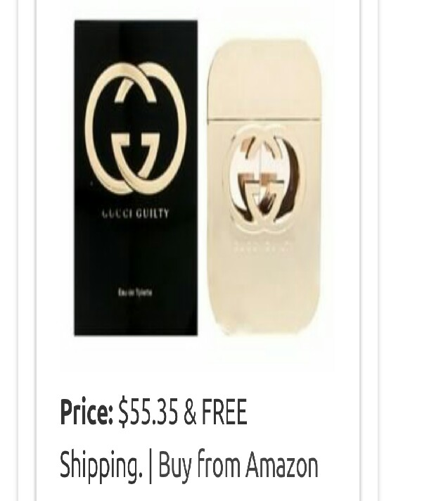 Guccu Guilty $55.35 on Amazon