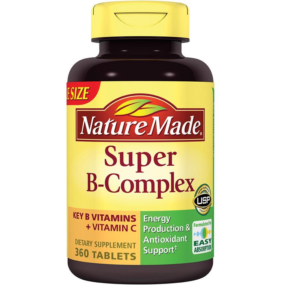 Take a b complex vitamin daily.