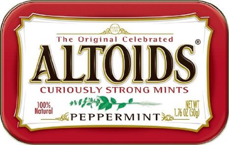 Gum- I know some schools don't allow gum, however, these Altoids may be okay.