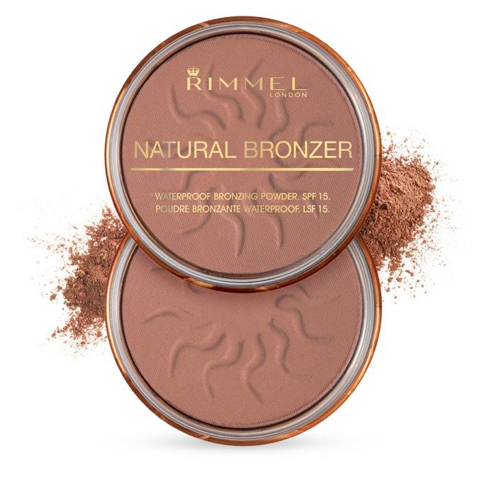 Rimmel Bronzer It's water resistant and looks so natural when applied!
