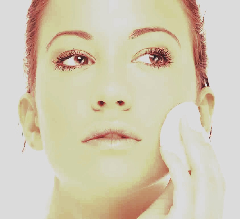 Further removal if necessary. Use cleansing toner and cotton pad to remove any residue.  Alternatively, mix sugar and water creating a scrub, which will remove residue and act as an exfoliator also!!