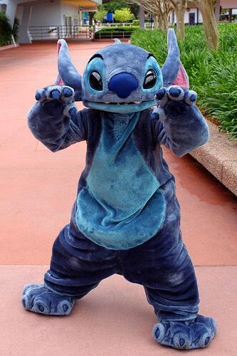 Stitch Can be found in Tomorrowland.