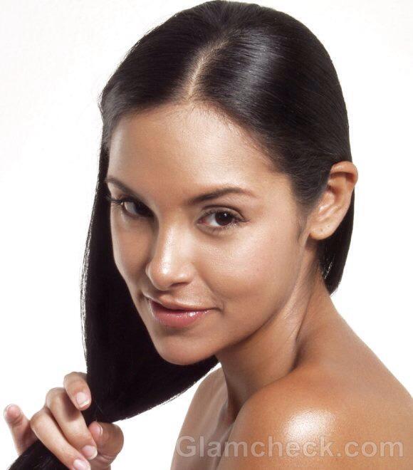 Myth#5.: If you shampoo less often, your scalp will gradually produce less oil.