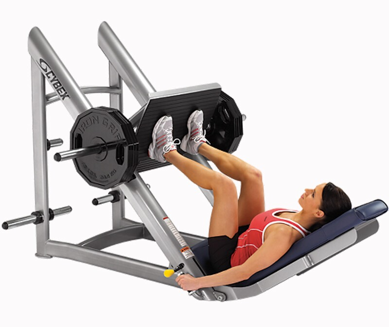 Leg press! 4 sets of 12 reps!