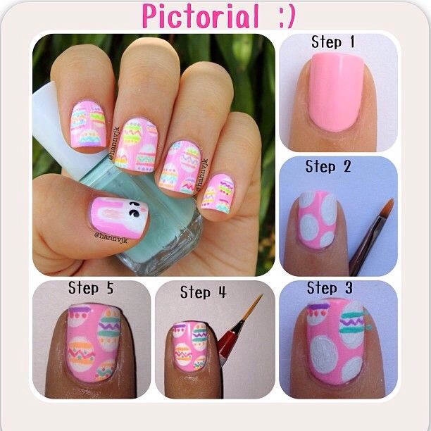 So cute and festive, even as just an accent nail!!
