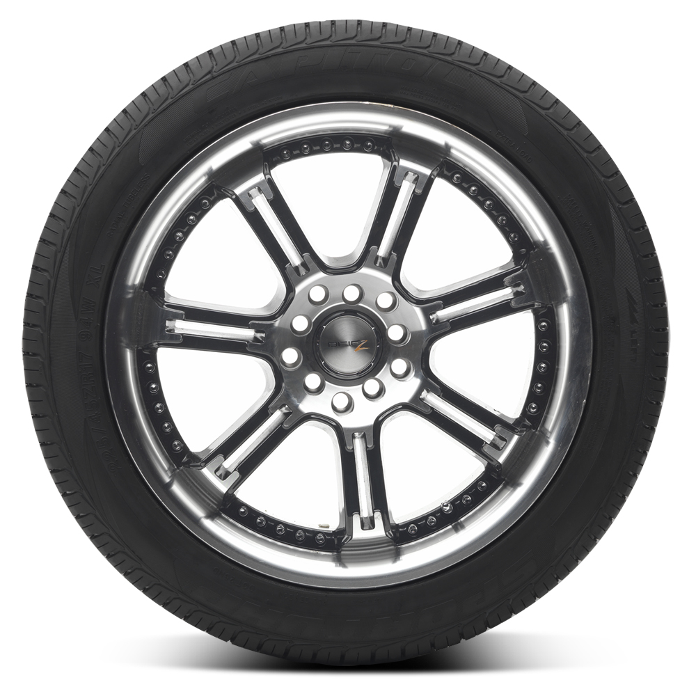 Keep a spare tire in your trunk!