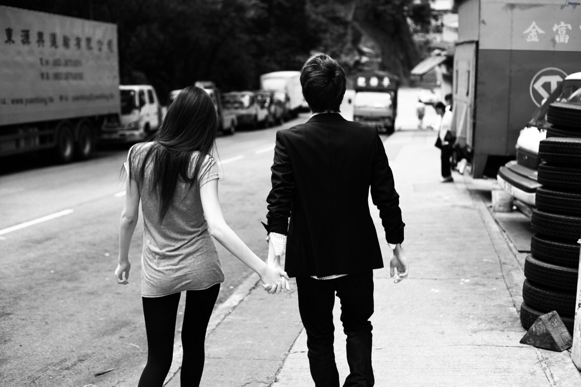 Holding hands in public is great and shows that the person you are holding hands with is yours and taken. But if your spouse or mate does not like holding hands in public do not get mad or assume he/she is embarrassed