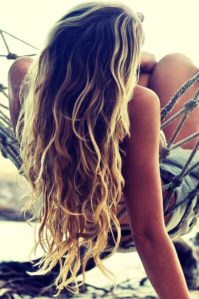 To get perfect beach waves I use sea salt